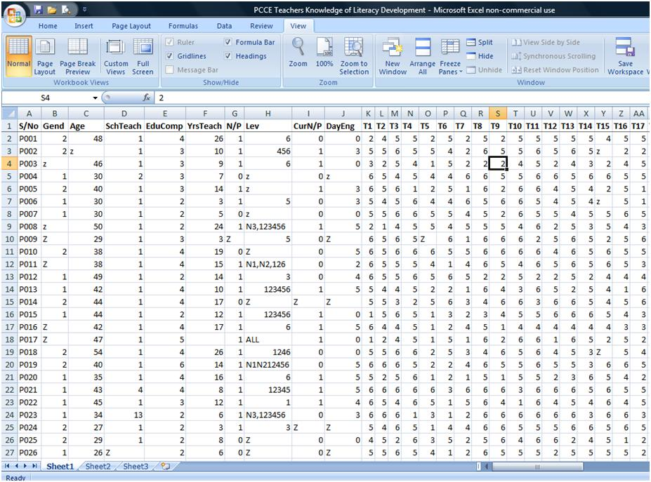 Excel Survey Data Analysis Template and How to Build A