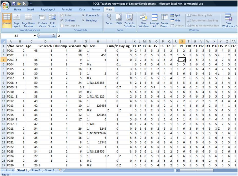 microsoft excel survey templates